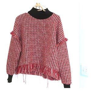 Zara Tweed Sweater